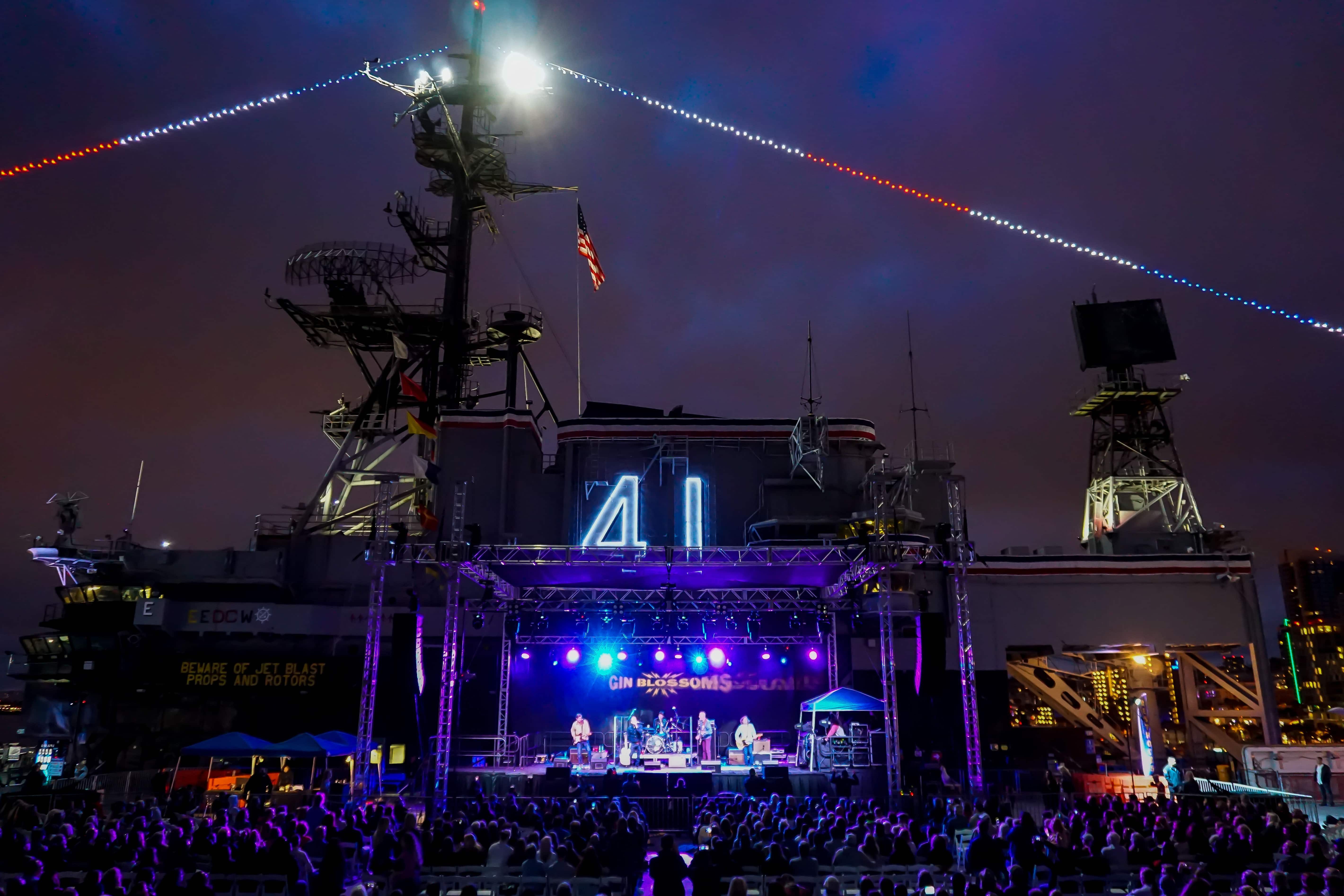 Gin Blossoms USS Midway 052618